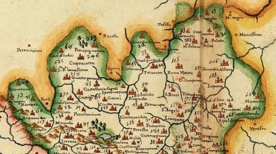 LEGGI DI RE ALFONSO DEL 1463: IL PRINCIPATO SI CHIAMO' ULTRA BENEVENTO; MONTEFUSCO ERA IN PROVINCIA DI SALERNO
